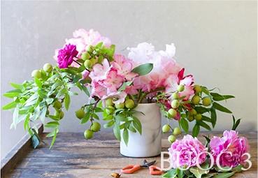 Học cách cắm bình hoa mẫu đơn cực kỳ thu hút
