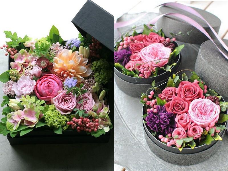 """Kết quả hình ảnh cho cắm hoa trong hộp"""""""