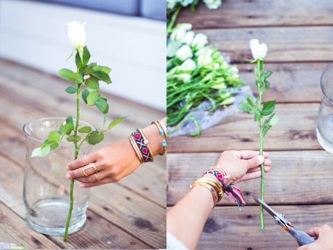 3 cách cắm hoa để bàn đẹp bắt mắt cho ngày lễ