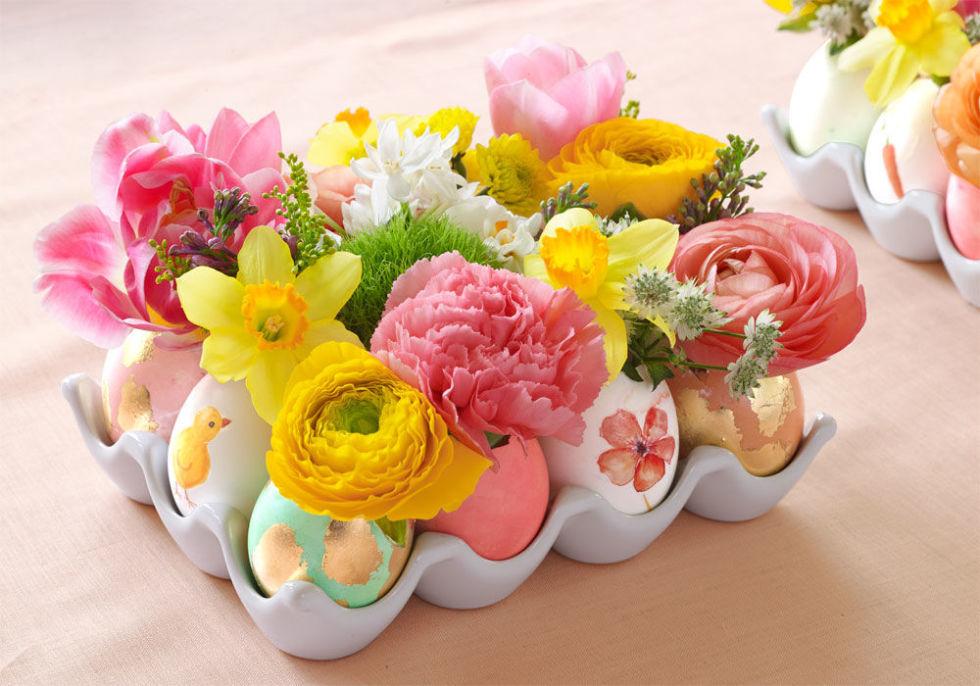 Ý tưởng cắm hoa không cần lọ giúp không gian nhà bạn thêm nghệ thuật