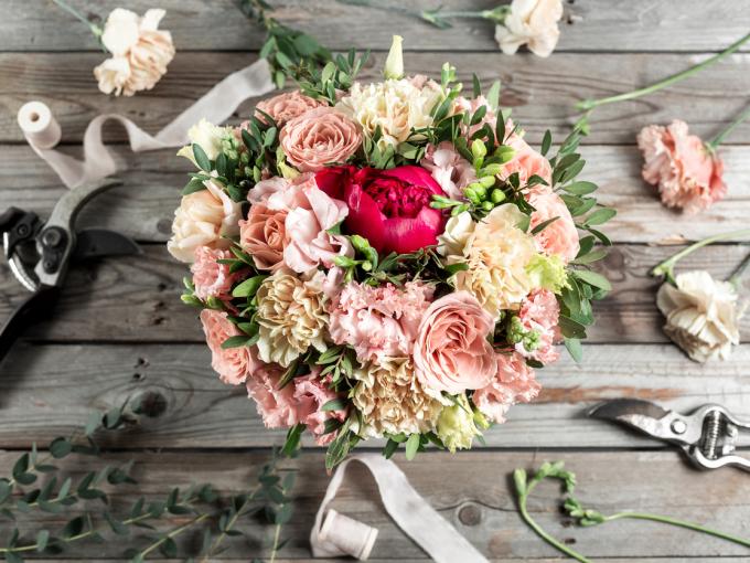 Trồng hoa ngày tết