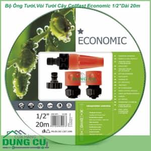 Bộ Ống Tưới,Vòi Tưới Cây Cellfast Economic 1/2″Dài 20m