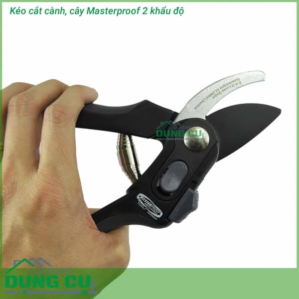 Kéo cắt cành cây Masterproof 2 khẩu độ thép SK85