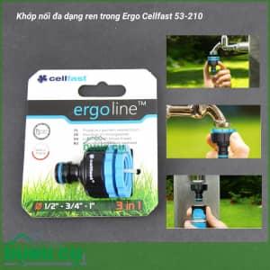 Cút nối đa dạng ren trong Ergo Cellfast 53-210