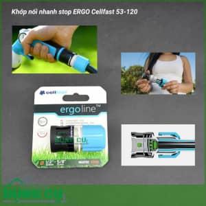 Cút nối nhanh stop ERGO Cellfast 53-120