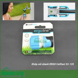 Cút nối nhanh ERGO Cellfast 53-135