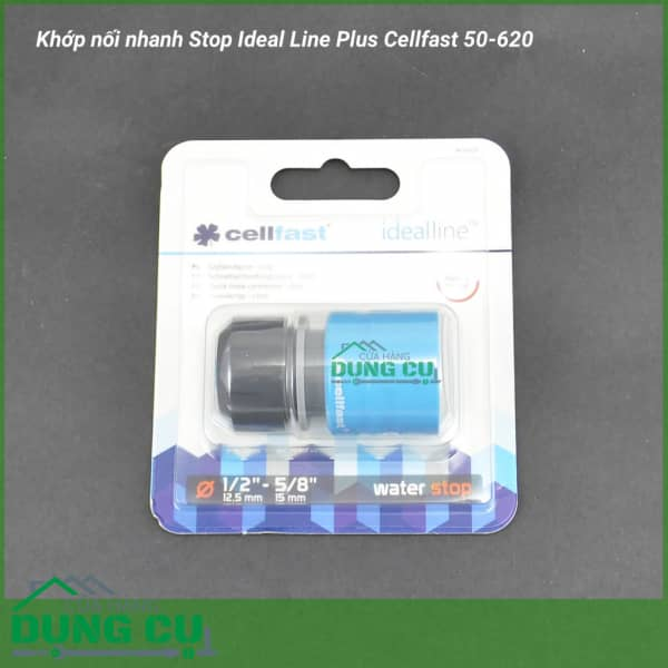 Cút nối nhanh Stop Ideal Line Plus Cellfast 50-620