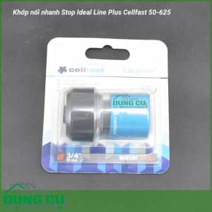 Cút nối nhanh Stop Ideal Line Plus Cellfast 50-625