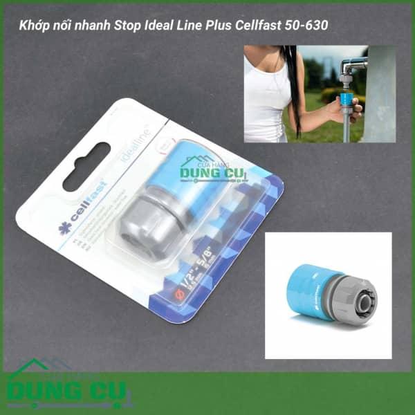 Cút nối nhanh Ideal Line Plus Cellfast 50-630