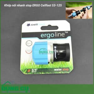 Cút nối nhanh stop ERGO Cellfast 53-125