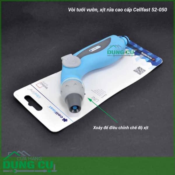 Vòi tưới cao cấp 2 chế độ Cellfast 52-050N