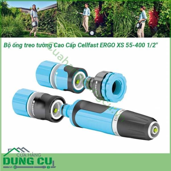 Bộ vòi tưới ống tưới treo tường xách tay cao cấp Cellfast