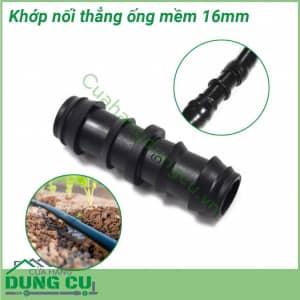 Khớp nối thẳng 16mm nối ống mềm