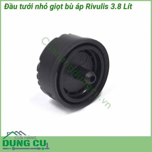 Đầu tưới nhỏ giọt có bù áp Rivulis 3.8L