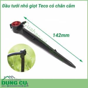 Đầu tưới nhỏ giọt Teco bù áp cuối ống