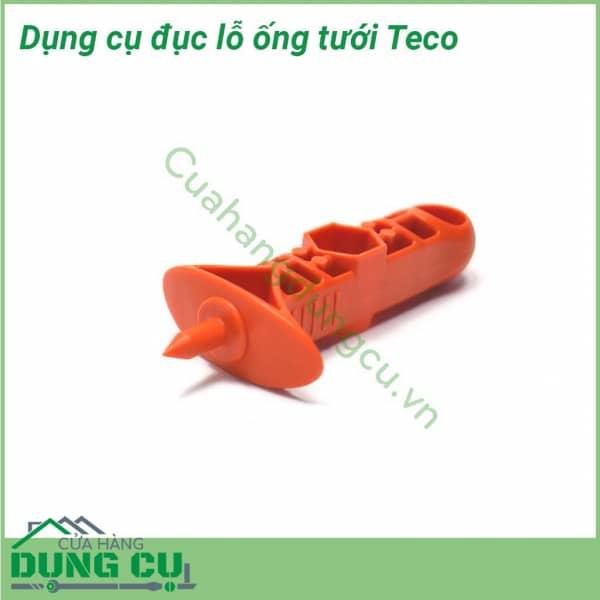 Dụng cụ đục lỗ ống tưới nhỏ giọt Teco 3mm