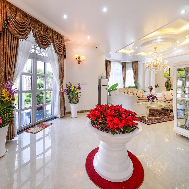 Cách chọn màu sắc hoa hợp phương hướng kéo tài lộc vào nhà