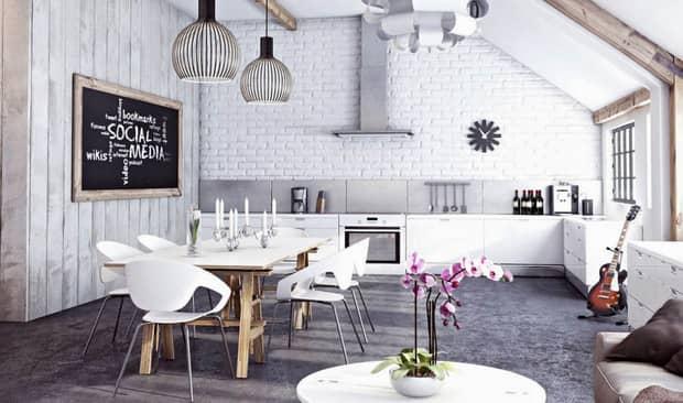 Nguyên tắc chọn hoa trang trí phòng bếp đẹp hợp phong thủy