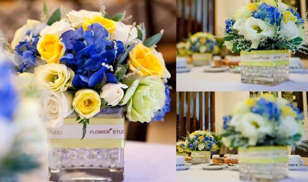 Nghệ thuật cắm hoa để bàn kiểu Tây theo dáng lọ tuyệt đẹp