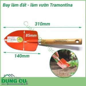 Xẻng làm vườn mini cầm tay Tramontina