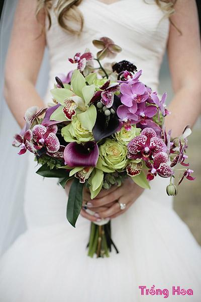 Cách bó hoa Lan làm hoa cưới tuyệt đẹp chỉ mất 3 phút
