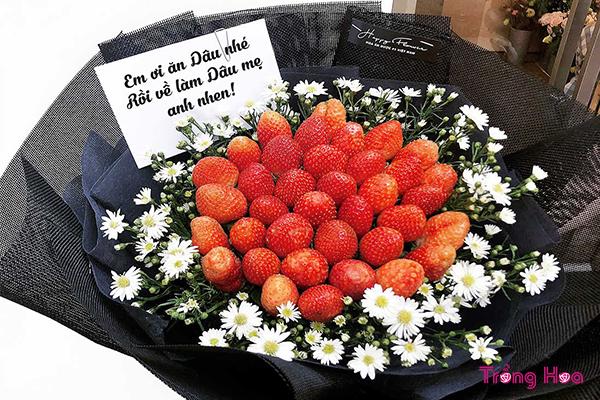 Hoa noel tặng bạn gái