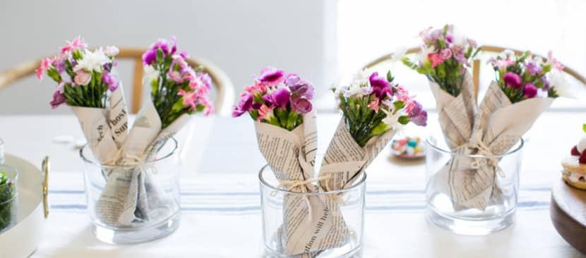 cách làm bó hoa cẩm chướng