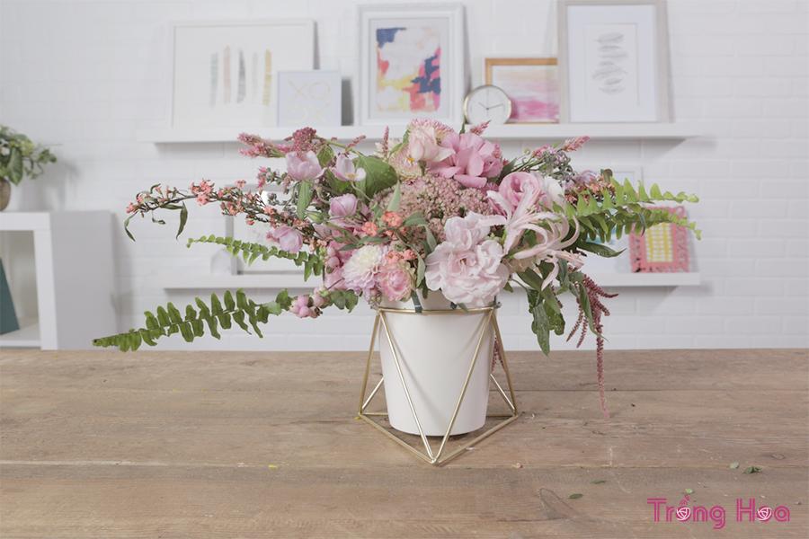 20 cách cắm hoa cổ điển tuyệt đẹp