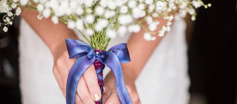 Cách làm bó hoa baby cầm tay