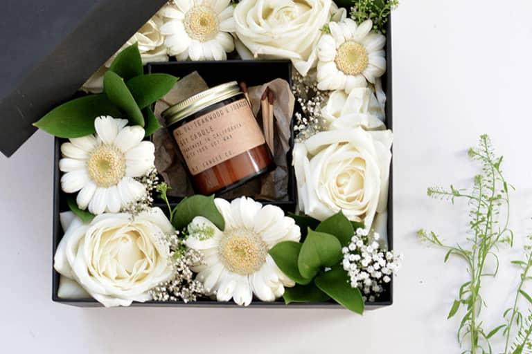 Các bước làm hộp quà hoa tặng mẹ